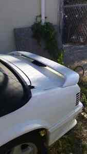 Cervinis spoiler for 79-93 coupe or convertible mustang