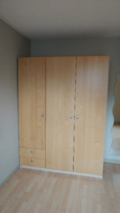 Why buy Ikea Pax? 2 wardrobes/armoires for sale!