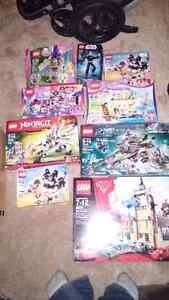 Lego!!!  An assortment of kinds. Brand new sets.