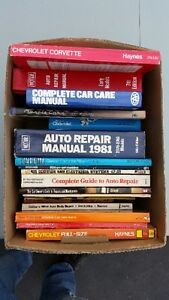 Great Deal! $40 for about 18 Car Books!!