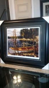 Tom Thomson and group of seven professionally framed 100 dollars
