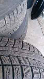 Like New Snow Tires on Rims