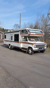 84 ford 27 ft motorhome