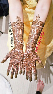 Bridal Henna Artist available@ affordable heena rate-Mississauga