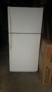 """Kenmore 30"""" fridge and 30"""" electric stove (white color) in good"""