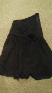 Black dress size 18