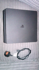 Mint condition barley used PS4 slim and accessories
