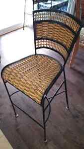 Reduced!! Bar height chairs