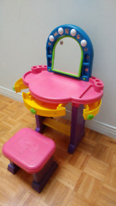 Makeup Table (ages 1-3)