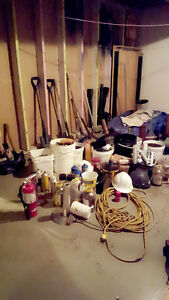Roofing Tools and Materials: Auction Sale
