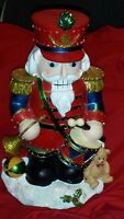 Christmas Nutcracker Fiber Optic Figure