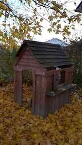 Kids outdoor wooden playhouse London Ontario image 1