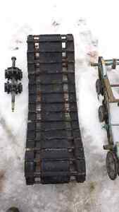 Enticer track, rear skid, drive axle