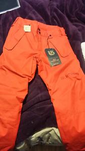 New Burton boys parkway snowboarding pants