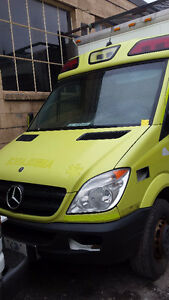 2011 Mercedes-Benz Sprinter, box truck