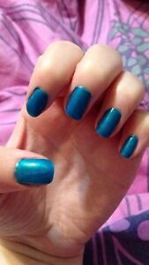$10 MANI/PEDIS with Gel Moment by Chelsea