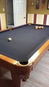 America II Pool Table and accessories