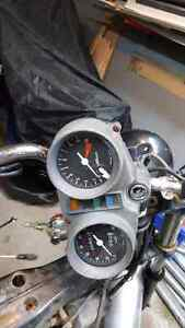 Speedometer and tachometer honda cb400t hawk 1981