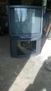 """32"""" sony tv & matching  stand"""