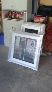 7 Brand New Triple pane, Low E casement windows with grilles