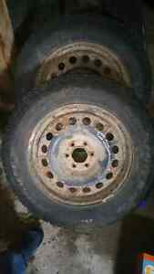 """Tires 2  225 65 r 17 """" Good year  paid close to $500 for them"""
