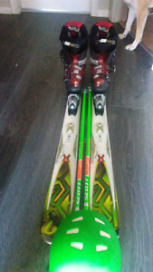 I am selling my skis, boots, poles and helmet. 650 OBO