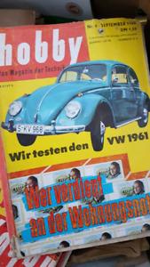 Vintage German Magazines - Hobby