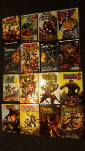 MARVEL ZOMBIES COMIC COLLECTION LOT RARE DC