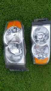 headlights DODGE RAM 2002-2005