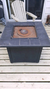 Fire pit: Propane - needs part (not working)