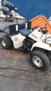 Yamaha Pro Hauler ATV