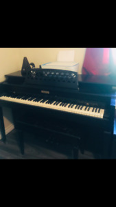 piano CURRIER great piano recently tuned