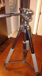 Quality Tripod with adjustable legs, levels and carrying case