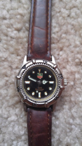 Tag Heuer Women's Leather Strap Watch