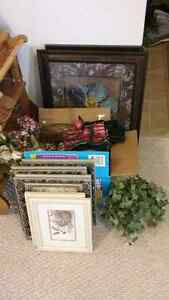 Household decor and Picture Frames