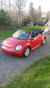 2007 Volkswagen Beetle Convertible - Stored for Winter! LOW KMS