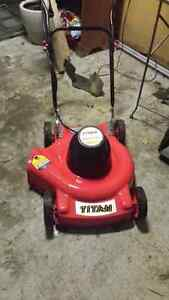Corded Electric lawn mower - like new