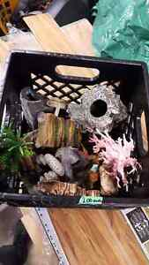 ASSORTED FISH/REPTILE ACCESSORIES  FOR SALE