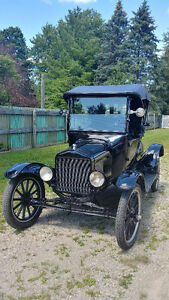 Ford Model T Coupe, 1921 - restored
