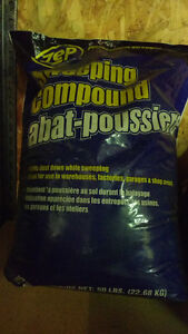 Floor Sweep Compound 50lb bag Edmonton Edmonton Area image 1