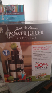 Brand new power juicer- Never used!
