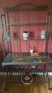 Bakers Rack/Wine Rack, Coffee and End Table London Ontario image 3