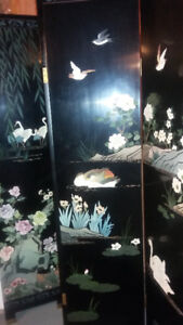Chinese Art Room divider