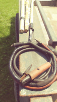 Stainless steel tig welding rods and tig welding tip, air cooled