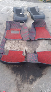 Dodge challenger mats and seat covers