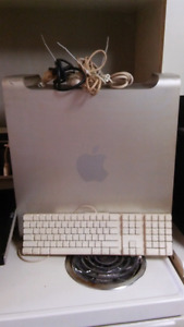 Apple G5 tower keyboard mouse