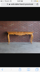 WANT TO BUY SOFA TABLE!!