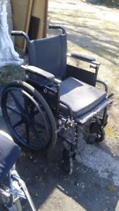 Chaise roulante airgo