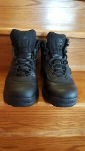 Timberlands Men's Black Leather Hiking Boots