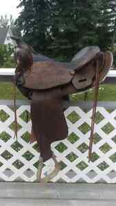 Western saddle for sale-Can bring to PG Dec3rd Prince George British Columbia image 1